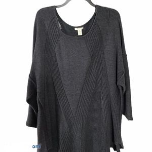 Westbound woman charcoal sweater